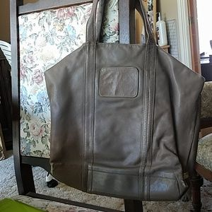 Handbags - Taupe Leather Tote